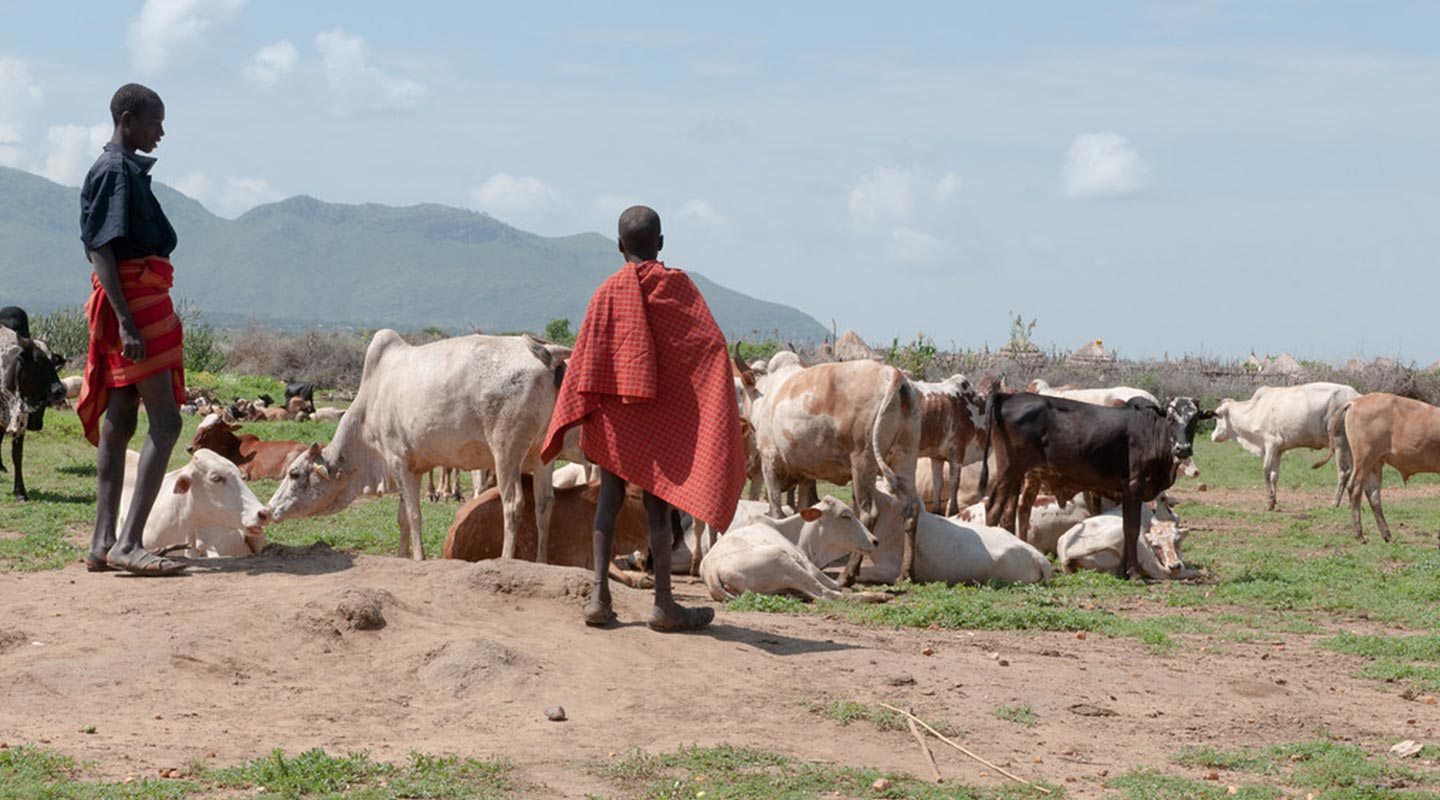 Karamojong Poeple in Kidepo VAlley